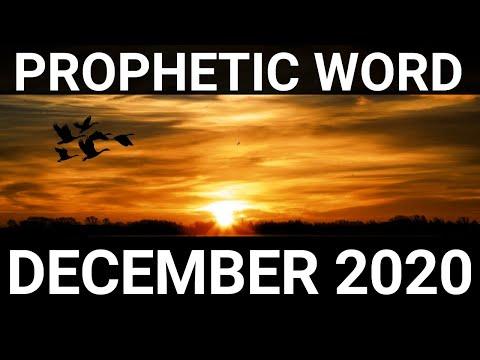 Prophetic Word for December 2020