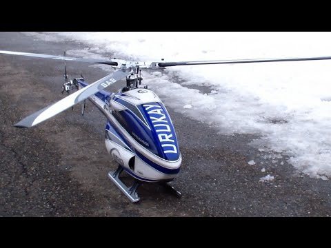 Large jet turbine powered scale RC helicopter (Tokoroa, Feb 2015