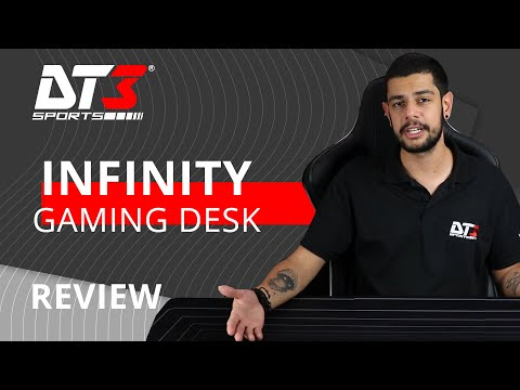 Gaming Desk Infinity - Mousepad de 1,40m!