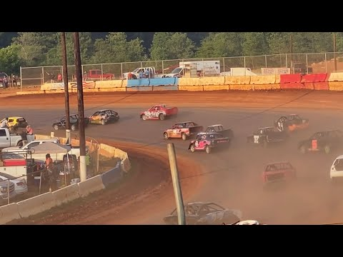 7/25/2021 Extreme 4 Cherokee Speedway - dirt track racing video image