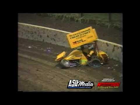 Litre Sprints: A-Main - Archerfield Speedway - 08.01.1997 - dirt track racing video image