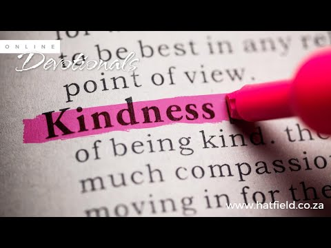 Pastor Louis Kotz  Acts of kindness