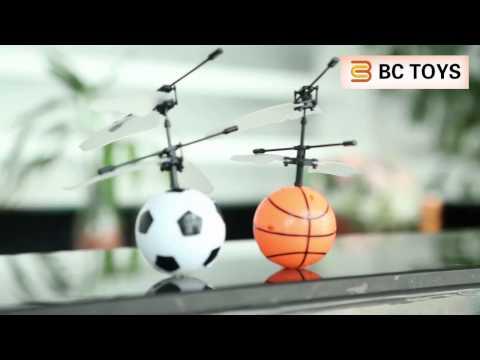 Sensing flying ball