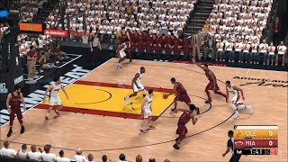 NBA 2K19 - Miami Heat vs Cleveland Cavaliers - Gameplay (PC HD) [1080p60FPS]