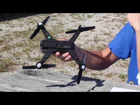 Best $50 Camera Drone Crazy Long Flight Time - Battle Shark Tianqu Visuo XS809S - TheRcSaylors - UCYWhRC3xtD_acDIZdr53huA
