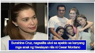 Sunshine Cruz reveals how separation from Cesar Montano affected their kids