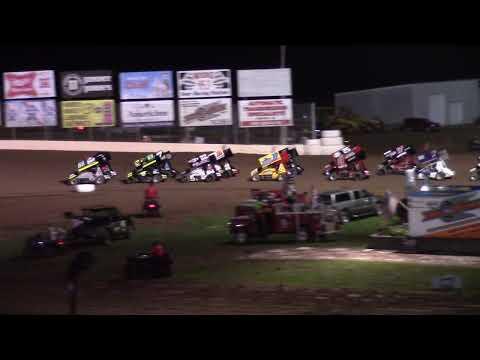 8/28/21 MSA Sprint Car Feature Beaver Dam Raceway - dirt track racing video image