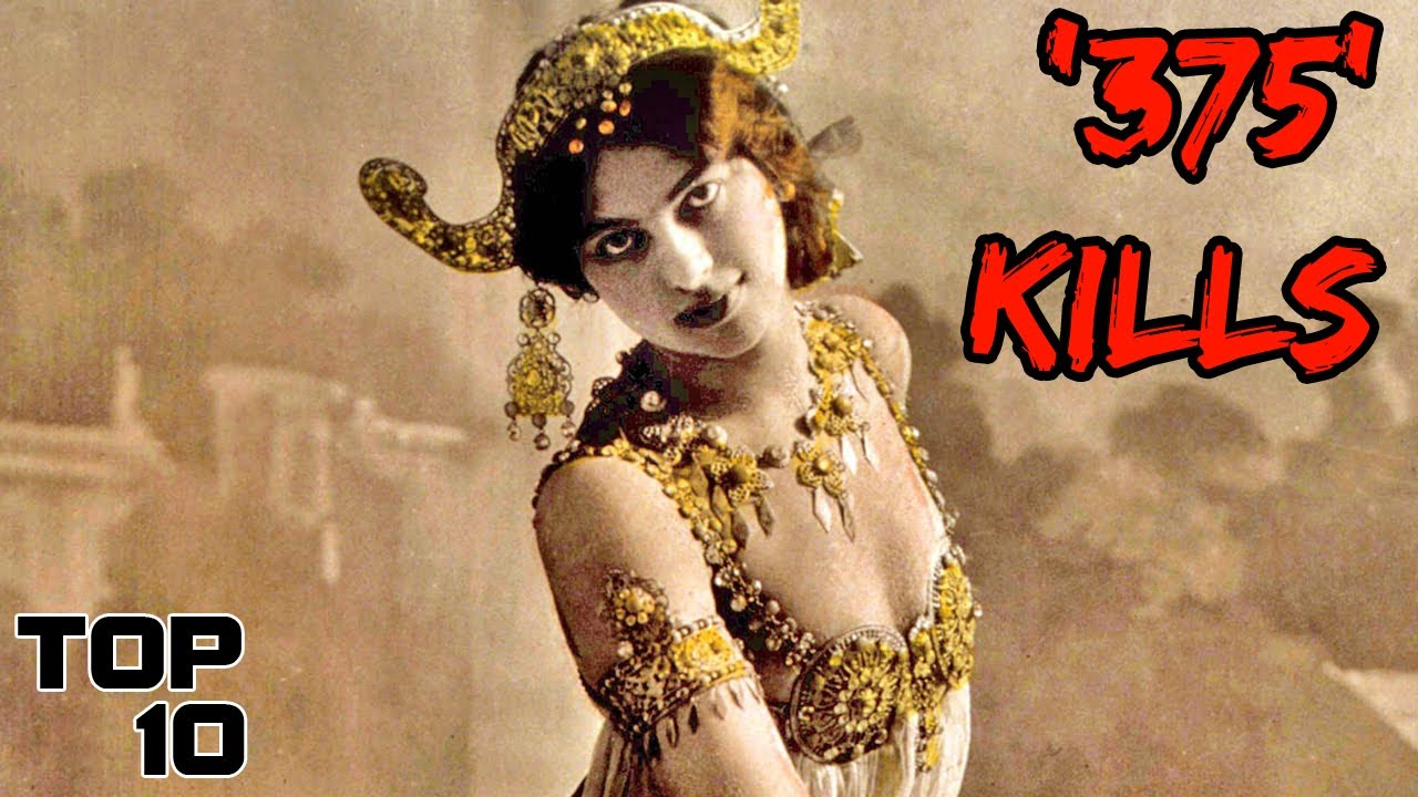 Top 10 Scary REAL Female Assassins In History