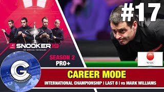 Snooker 19 Ronnie O'Sullivan Career Mode S2 #17 | DEFENDING WORLD CHAMPION!