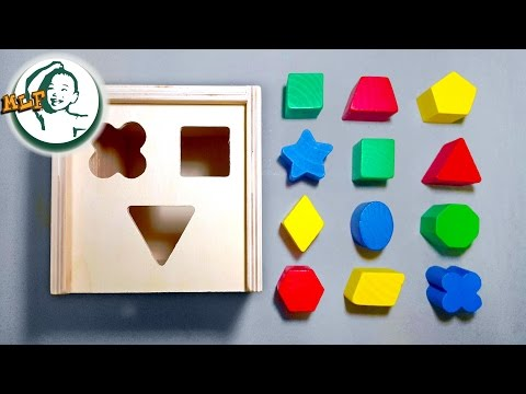 Learn shapes for kids with Melissa & Doug shape sorting cube classic toy | shapes compilation| - UC7pL7eH9oa4Ul05Slu2uUWw