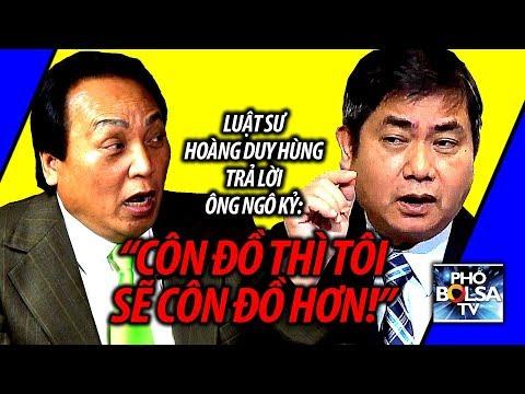 Ls Hoàng Duy Hùng vs. ông Ngô Kỷ: