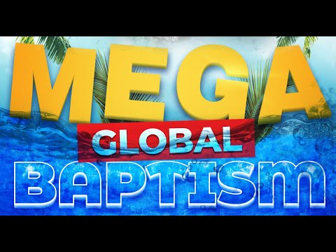Mega Global Baptism  Apostle Jean-Pierre Bekker  Revival Christian Church