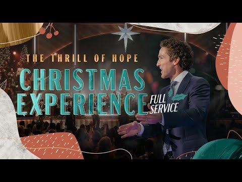 Christmas Eve Service  Lakewood Church  Danilo Montero