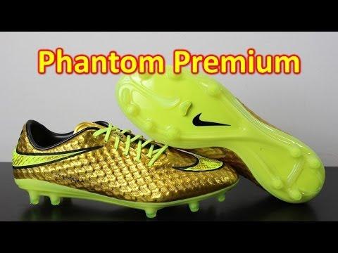 Neymar Nike Hypervenom Phantom Premium Metallic Gold Coin/Volt - Unboxing + On Feet - UCUU3lMXc6iDrQw4eZen8COQ