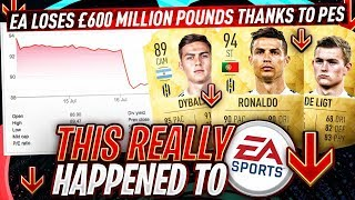 EA LOST £700 MILLION IN 1 HOUR!!