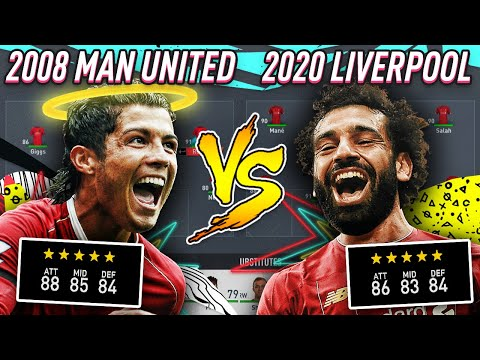 WHO WOULD WIN THE LEAGUE? 2008 MAN UNITED VS 2020 LIVERPOOL - FIFA 20 EXPERIMENT