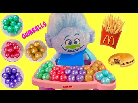 guy diamond has mcdonalds happy meal colorful gumballs