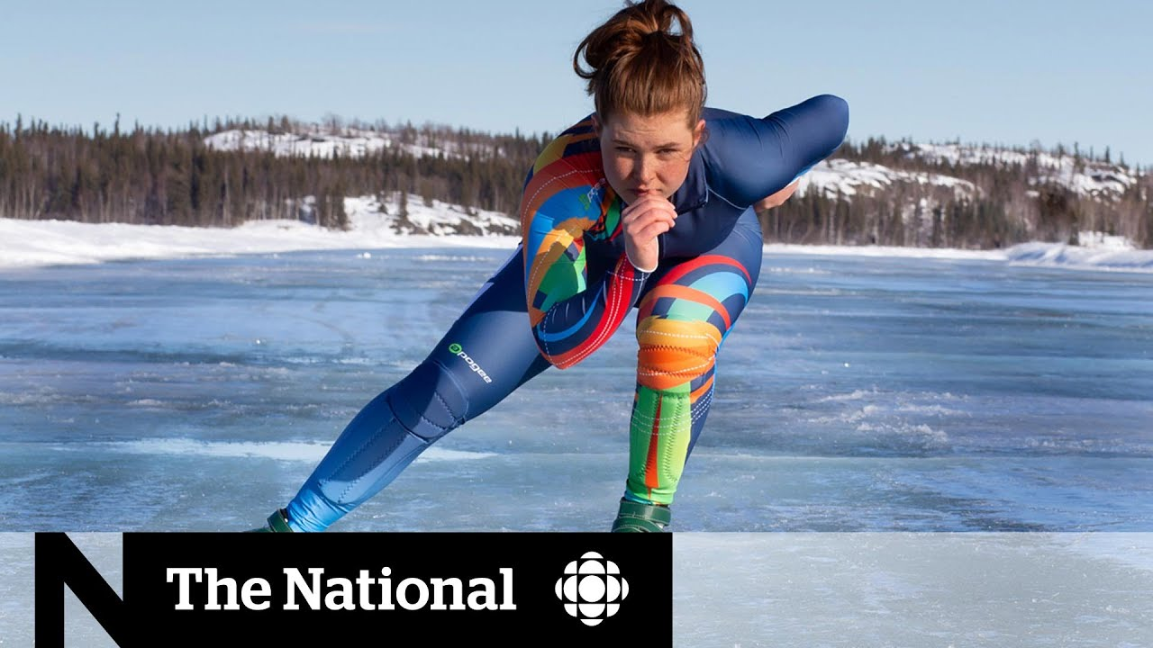 Yukon speed skater perseveres, relocates for pandemic training