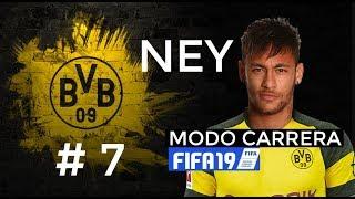 CAP 7 - Neymar Jr llega al Dortmund BVB busca conquistarlo todo   FIFA 19 MODO CARRERA