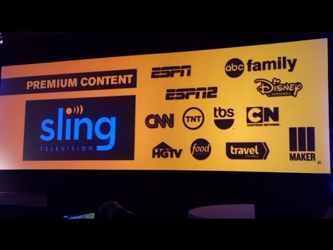 Sling TV Makes Cutting the Cable Easy - CES 2015 - ignentertainment