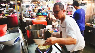Street Food Malaysia Penang Pork Soup and Yam Rice