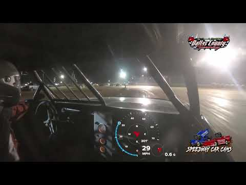 #2 Zach Williams - Pure Stock - 7-23-2021 Dallas County Speedway - In Car Camera - dirt track racing video image