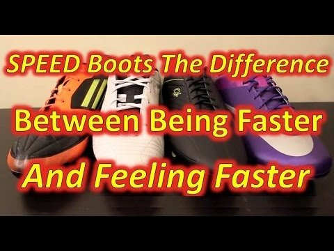 Speed Boots - The Difference Between Being Faster and Feeling Faster - UCUU3lMXc6iDrQw4eZen8COQ
