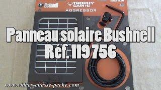 Panneau solaire Bushnell pour Trophy Cam Aggressor