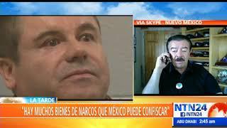 """""""Bienes de 'El Chapo' le corresponden a México… él ganó más dinero que Pablo Escobar"""": Michael Vigil"""