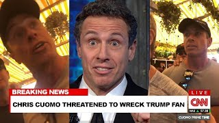Chris Cuomo Threatens Trump Supporter Who Called Him Fredo