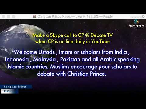 Pakistani Sunni Muslim Khan Left Islam & Became Christian :: CP's Chat