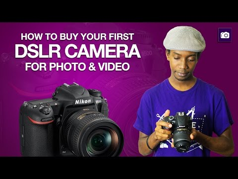 Buying Your First DSLR Camera | Buyers Guide - UCovtFObhY9NypXcyHxAS7-Q