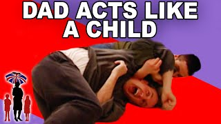 Playful Dad Acts Like a Child | Supernanny