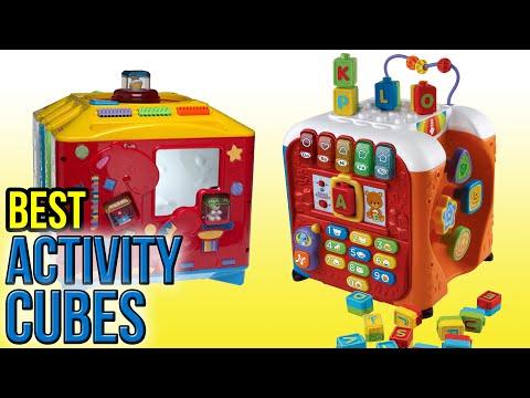 B Zany Zoo Wooden Activity Cube Review Racerlt