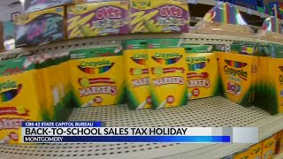 Alabama stores gearing up for sales tax holiday
