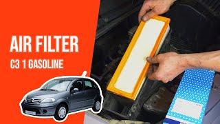 Cambio filtro aria CITROEN C3 1.1 Benzina