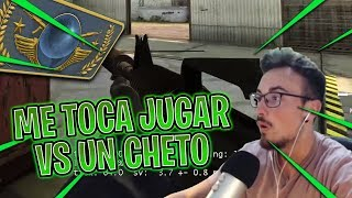 Me SALE un posible CHETO en la PARTIDA #2 - CSGO Road To Global Elite Español