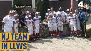 Little League Team Heading to LLWS Honors NJ Trooper | NBC New York
