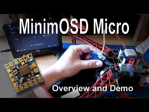 MinimOSD Micro - Overview and Demonstration (KV Team mods) - UCp1vASX-fg959vRc1xowqpw