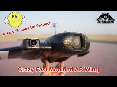 High Speed Flying Wing AR Wing FPV Racing Wing - UCsFctXdFnbeoKpLefdEloEQ