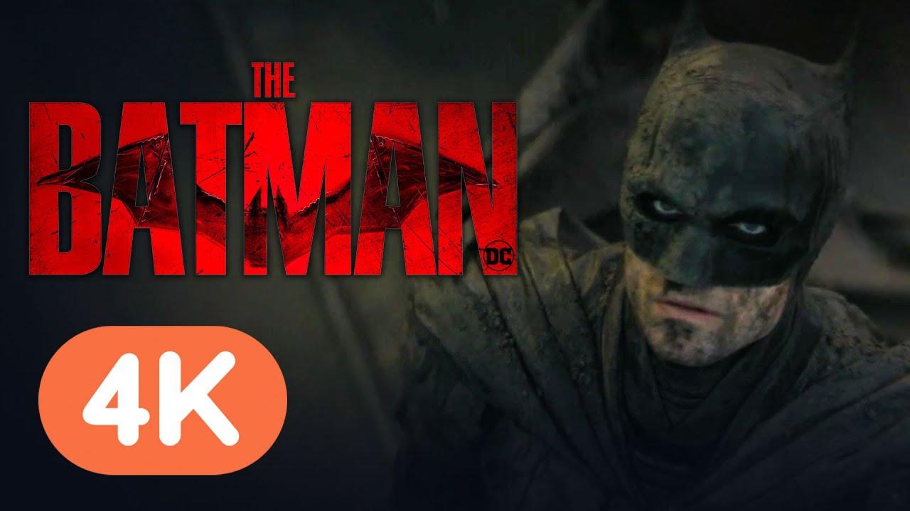 The Batman – Official 4K Trailer (2022) Robert Pattinson, Zoe Kravitz | DC FanDome 2021