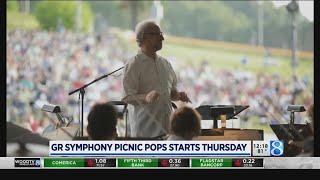 Grand Rapids Symphony Picnic Pops returns for 25th year: What to expect in 2019