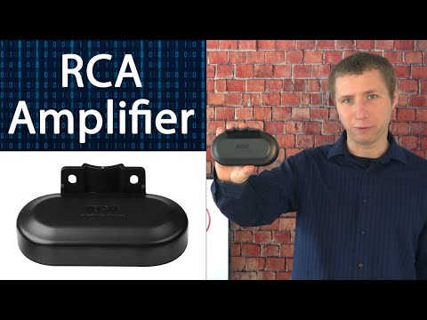 RCA Digital Signal Preamplifier for Outdoor Antennas Review