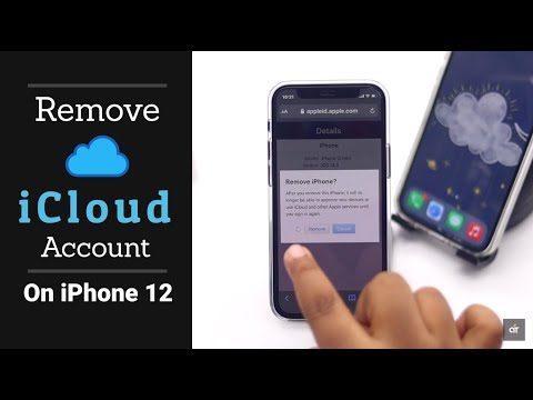 Remove iCloud Account on iPhone 12, 12 Mini, 12 Pro, 12 Pro Max