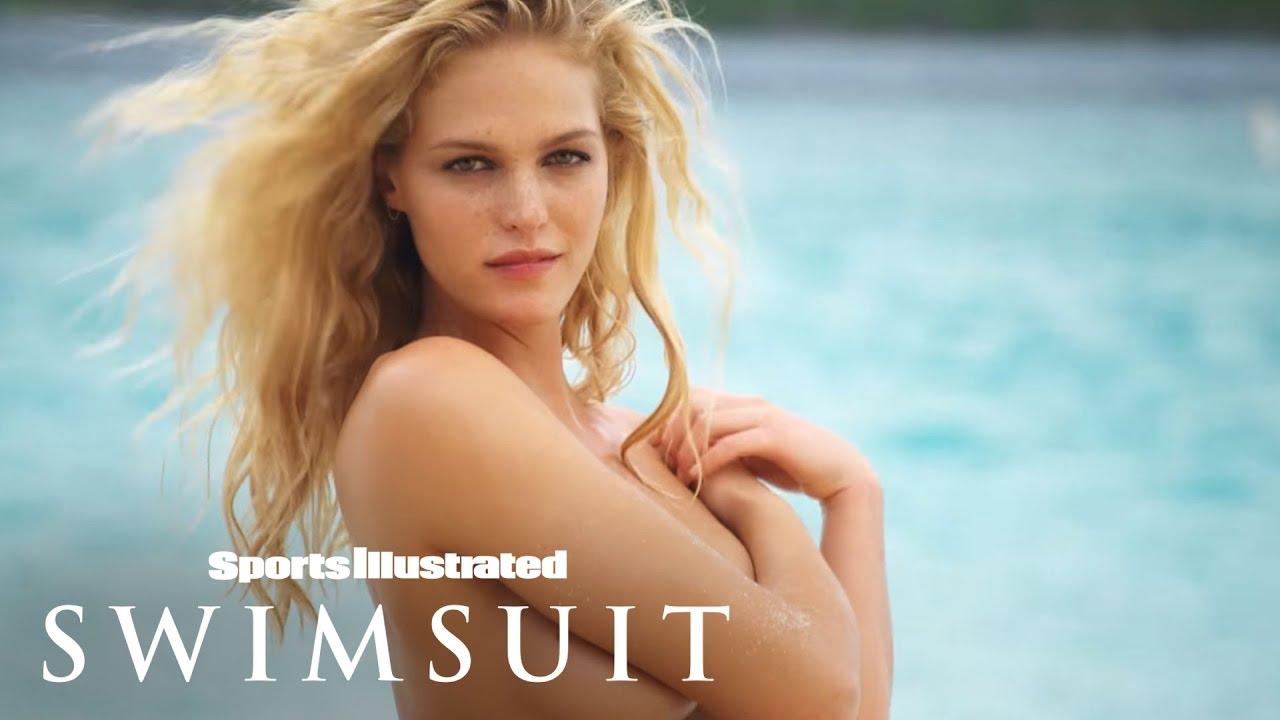 Erin Heatherton's First Photoshoot   Uncovered   Sports Illustrated Swimsuit