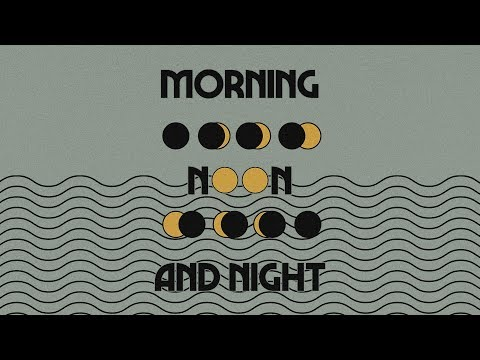 New Series alert! Morning, Noon and Night kicks off today! Join us live