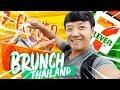 brunch at 7-eleven thailand