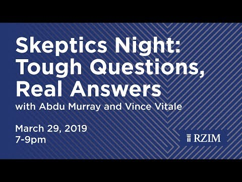 Skeptics Night: Tough Questions, Real Answers.
