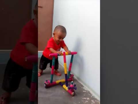 Kid walks first Time