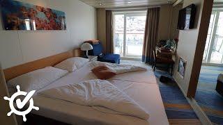 Mein Schiff Herz: Balkonkabine (8133) ⚓